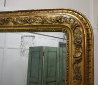 Very Large French 19th Century Louis Philippe Gold Mirror (7 of 12)