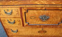 Beautiful 1880's Satin Birch Chest Drawers (6 of 6)