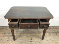 Antique 19th Century Oak Side Table (14 of 14)