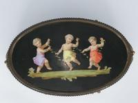 X Large Brass Framed Casket / Box c.1850 (4 of 7)