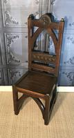 Victorian Gothic Revival Hall Chair (2 of 13)