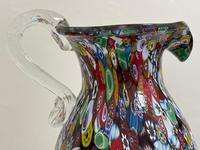 2 Beautiful Italian Murano Fratelli & Torso Millefiori Glass Vases (33 of 34)