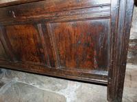 Early Oak Paneled Front Coffer (6 of 7)