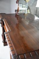 Victorian Mahogany Twin Pedestal Sideboard (12 of 12)