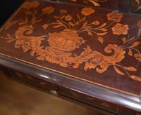 Antique Dutch Marquetry Vanity Hat Stand - Mirror (5 of 19)