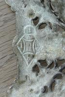 Pair of Victorian William Tonks Brass Candlesticks Register Diamond Mark '1882 WT&S' (8 of 9)
