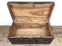 Carved Oriental Camphorwood Chest or Trunk (3 of 13)