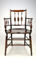 An Unusual 19th Century Country Armchair (7 of 9)