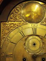George III Inlaid Mahogany Grandfather Clock by G Brown, Edinburgh (5 of 12)