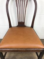 Georgian Chair with Drop-in Leather Seat (4 of 13)