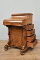Victorian Walnut Pop Up Piano Davenport Writing Desk (2 of 8)