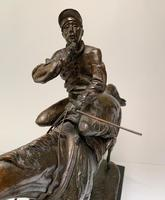 A. Tchernochtchekov - Bronze Pair of Horses & Jockeys (6 of 9)