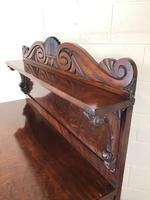 Antique 19th Century Mahogany Chiffonier Sideboard (6 of 12)