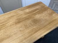 French Trestle End Refectory Farmhouse Dining Table (16 of 17)