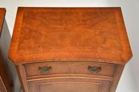 Pair of Georgian Style Burr Walnut Bedside Cabinets c.1930 (7 of 11)
