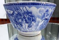 An Extremely Rare Pottery Napoleon Propaganda B&w Commemorative Bowl C.19thc (7 of 12)