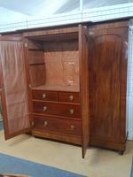 Antique Victorian Breakfront Wardrobe (6 of 6)