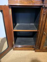 Rosewood Breakfront Bookcase (7 of 15)