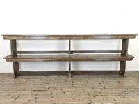 Pair of Antique Oak Refectory Benches (9 of 12)