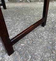 Antique Georgian Oak Side Table (2 of 14)
