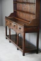 Antique Oak & Pine Kitchen Dresser (8 of 12)