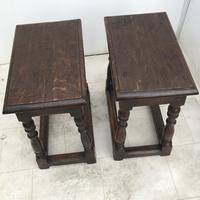 Pair of Oak Coffin Stools Circa Late 17th Century (15 of 24)