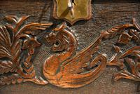Continental 19th Century Carved Oak Casket Box (8 of 8)