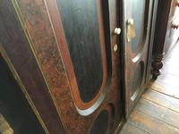 Antique Pine Cupboard Armoire Original Hand Painted (3 of 6)