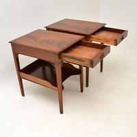 Pair of Antique Mahogany Side /  Bedside Tables (9 of 12)