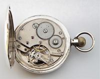 1919 Silver Cyma Pocket Watch (2 of 5)