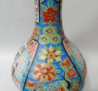 Japanese Meiji Bottle Vase c.1900 (4 of 9)
