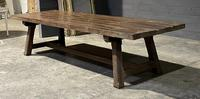 Huge Rustic French Oak Farmhouse Dining Table (17 of 35)