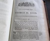 Collection of 109 Government Acts Passed in the Forty First Year of The Reign of His Majesty King George III (3 of 7)