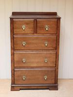 Tall Oak Chest of Drawers (2 of 10)