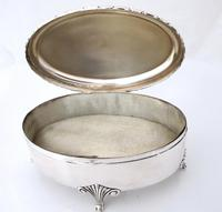 Elegant Fine Quality Swedish Silver Dressing Table Box c.1900 (2 of 9)