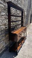 Antique Georgian Oak Potboard Dresser (8 of 28)