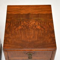 Pair of Art Deco Burr Walnut Bedside Cabinets (4 of 12)