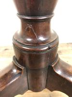 19th Century Mahogany Tilt Top Tripod Table with Circular Top (4 of 9)