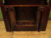 Antique Chinese Qing Shrine Shelf Cabinet with Doors (10 of 18)