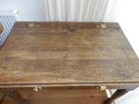 Solid oak school desk (4 of 7)