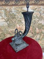 19th Century Bronze Lamp in the Form of a Goat or Ram (4 of 6)