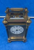 Victorian Gilt Brass  Charles Frodsham Carriage Clock (10 of 11)