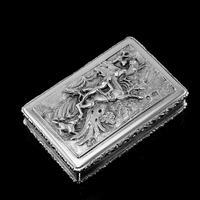 Rare Antique Georgian Solid Silver Mazeppa Snuff Box - Edward Smith 1836 (4 of 23)