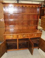 1900's Oak Dresser with Display Rack Good Fruitwood Colour (4 of 5)