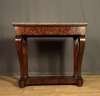 French Louis Philippe Period Mahogany Console Table (5 of 12)