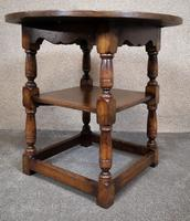 Titchmarsh & Goodwin English Oak Tavern Table / Occasional Table RL87 (3 of 10)
