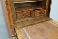 French Tulip and King Wood Ecritoire Writing Cabinet (4 of 8)