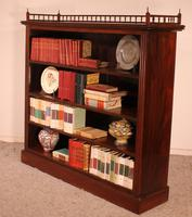 Fine Open Bookcase in Mahogany Early 19th Century - England (6 of 11)