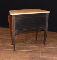 Antique French Commode Nightstand - Bombe Chest (8 of 8)