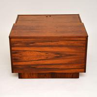 1960's Swedish Rosewood Drinks Cabinet / Coffee Table (9 of 13)
